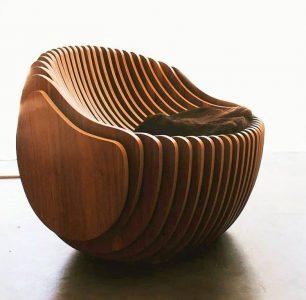 Круглое кресло чертеж для ЧПУ